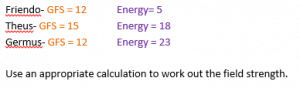 Changing the subject of a formula wordproblem a.1